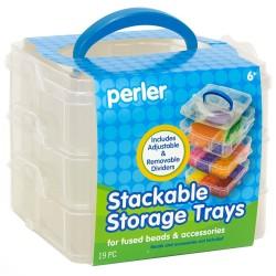Perler Beads :: Caja Organizadora c/divisiones móviles