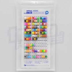 Artkal Beads :: Muestrario de colores tamaño MIDI (5mm)