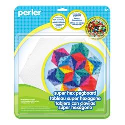 Perler Beads :: Base Hexagonal Gigante para MIDI (5mm)