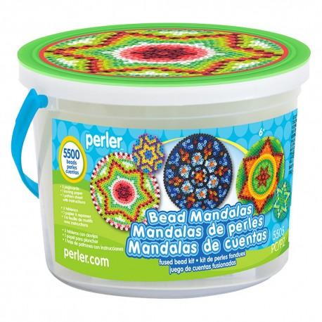 Perler Beads :: Cubeta Mandalas