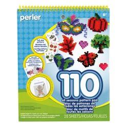 Perler Beads :: Libro c/110 Diseños para MIDI (5mm)