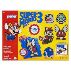 Perler Beads :: Set Súper Mario Bros 3 c/4000 Cuentas y 16 Diseños para MIDI (5mm)