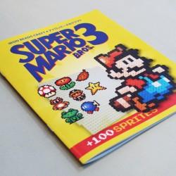 Libro Súper Mario Bros 3 c/+100 Diseños para MIDI y MINI