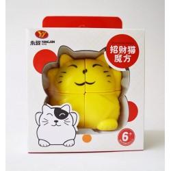 Cubo Rubik :: Gato de la Fortuna 2 x 2 x 2