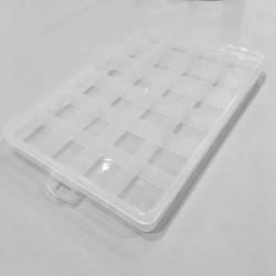 Caja Organizadora c/24 Divisiones - Ideal para MINI Beads 2.6mm