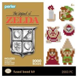 Perler Beads :: Set Legend Of Zelda C/12 Diseños Midi (5mm)