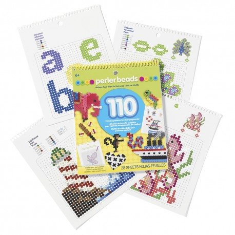 Perler Beads :: Cuaderno c/110 Diseños
