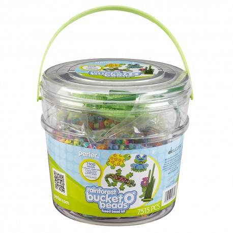 Perler Beads :: Cubeta Rainforest / La Selva
